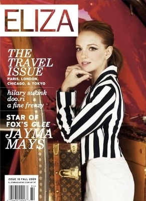 Scan of Eliza Magazine Conver Fall 2009