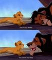 Scar&Simba - the-lion-king fan art