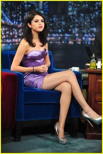 Selena Gomez - Late Night with Jimmy Fallon