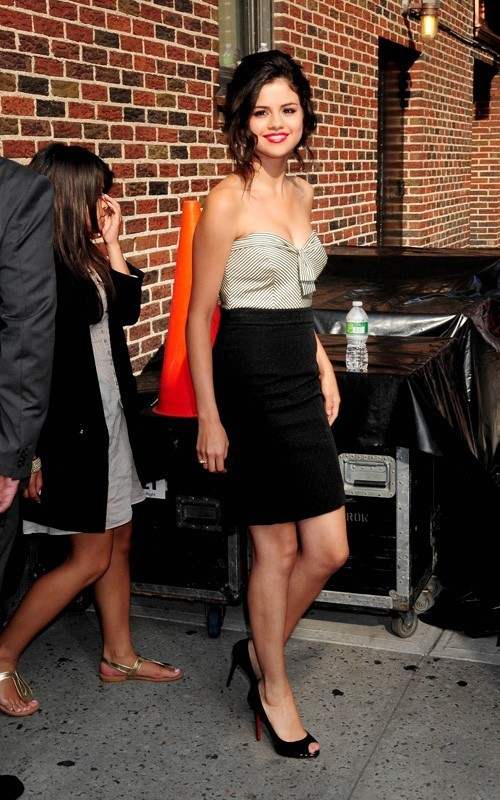 Selena on the premiere '' 'Ramona and Beezus'