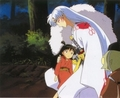 Sesshomaru and Rin - sesshomaru-and-rin screencap