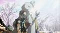 Sesshomaru and Rin - sesshomaru-and-rin screencap