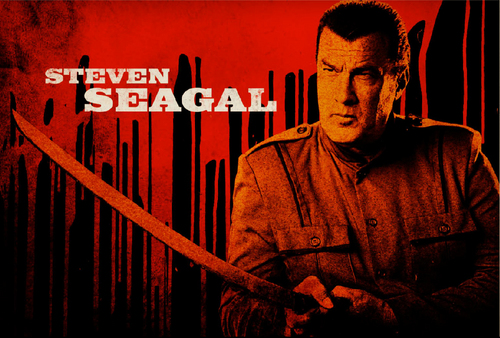 Machete kertas dinding titled Steven Seagal as Torrez
