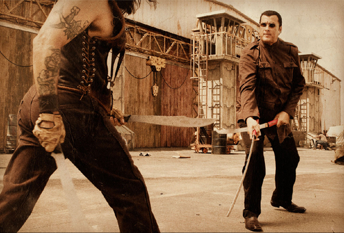 Machete wallpaper entitled Steven Seagal as Torrez