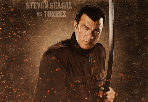 Machete 바탕화면 titled Steven Seagal as Torrez