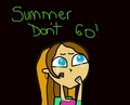 Summer don't go! - total-drama-island fan art