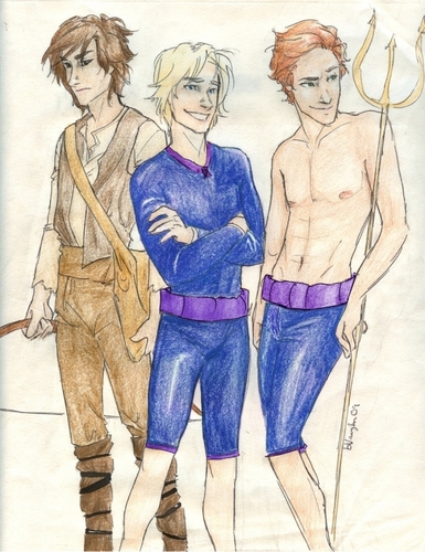 The Men of Hunger Games - the-hunger-games Fan Art