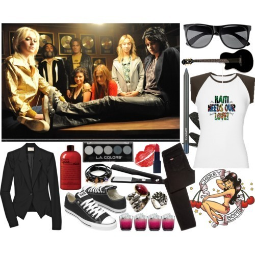 The Runaways Polyvore
