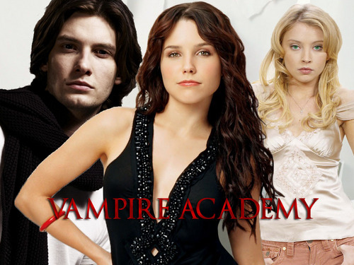 Vampire Academy achtergrond entitled VA Rose, Lissa and Dimitri
