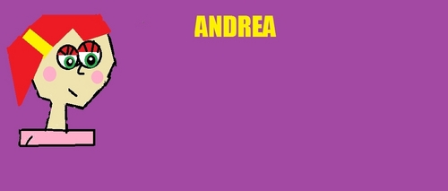 andrea my total drama character