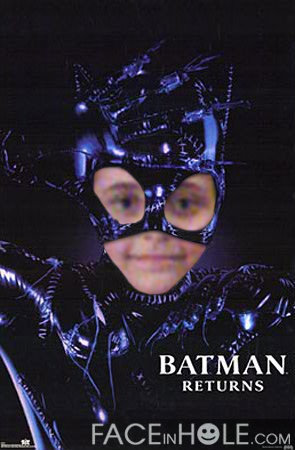 batman/catwoman Paris