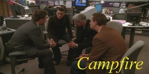 NCIS wallpaper titled campfire
