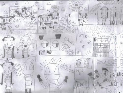 Invader Zim FanCharacters wallpaper entitled gir's baby