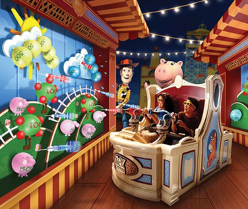 inside toystory mania