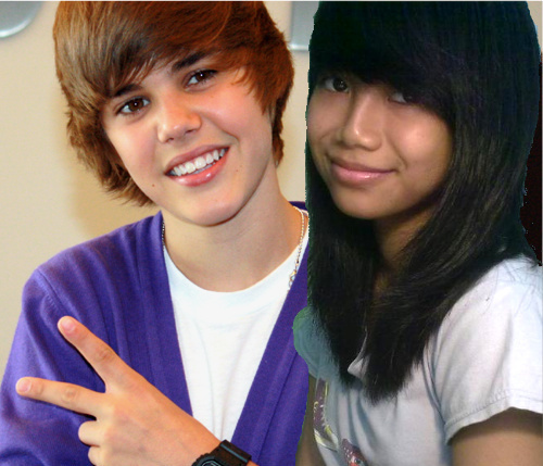 me with justin