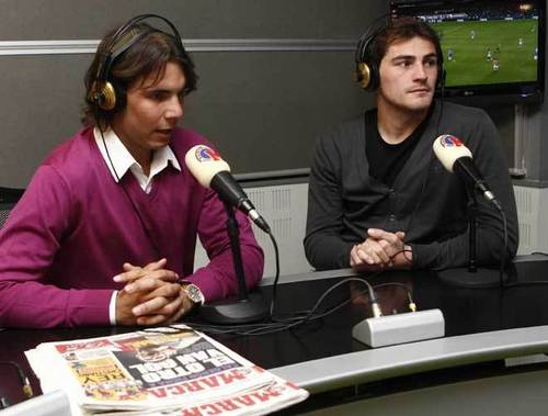 nadal and casillas