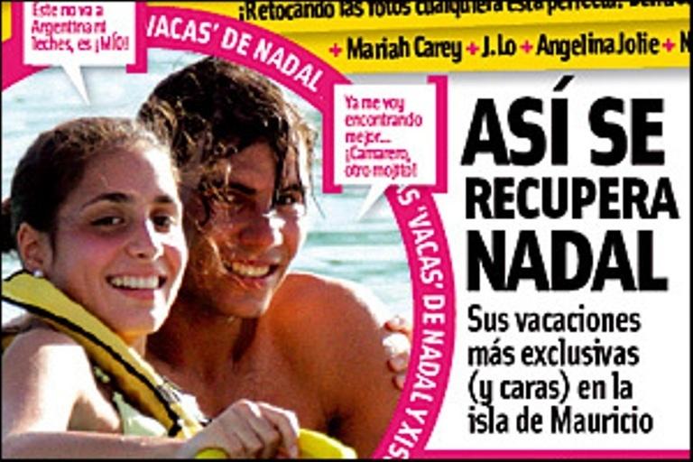 rafael nadal girlfriend. pictures Rafael Nadal and