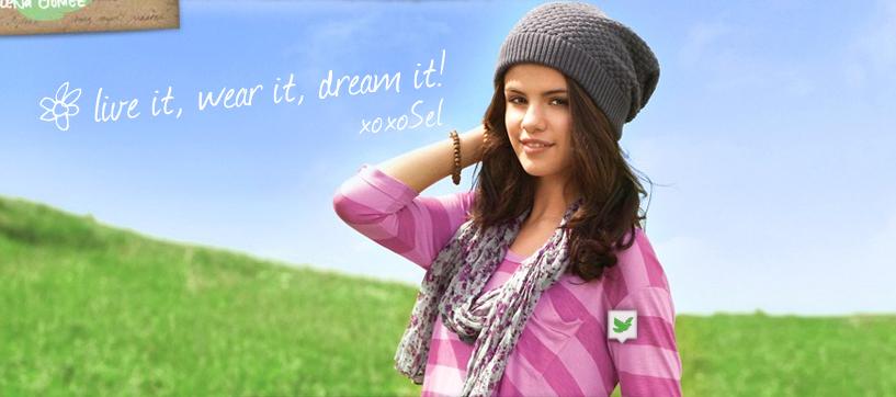 Selena Gomez Dream Out Loud Photoshooot