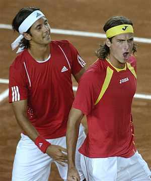 Feliciano Lopez wallpaper called verdasco and lopez are gays !!!!