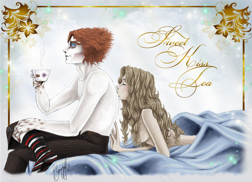 Alice in Wonderland (2010) wallpaper entitled *~*Sweet kiss tea*~* - //AliceXMadHatter