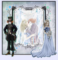 *~*Wedding Pic*~* Fanfiction Illustration - From this moment...*~*// AliceXMadHatter - alice-in-wonderland-2010 fan art