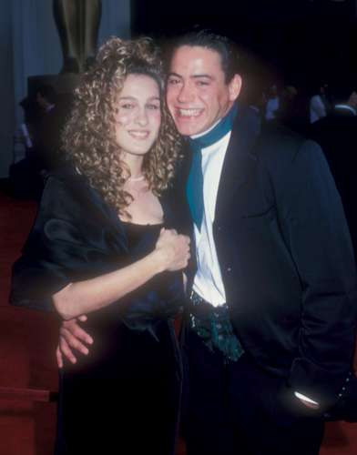 Robert Downey Jr. achtergrond entitled 61st Annual Academy Awards - 29th March 1989