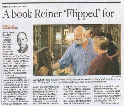 A Book Reiner Flipped For