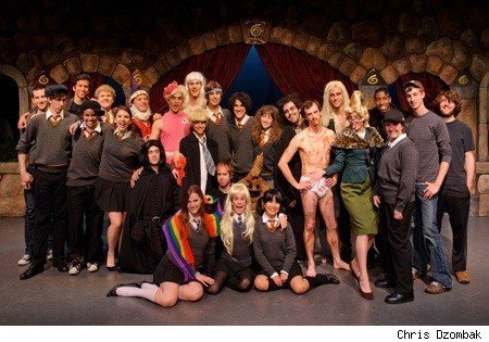 StarKidPotter wallpaper called A Very Potter Sequel Cast Photo