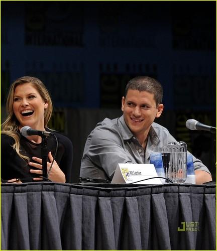 Ali & Wentworth @ 2010 Comic-Con