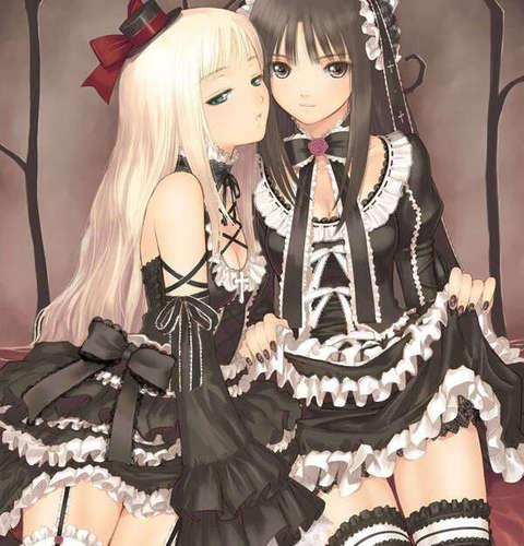 những cô gái trong anime