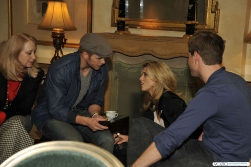 AnnaLynne and Kellan at the QVC 'Buzz On The Red Carpet' party