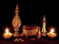 Antiqued Candles - candles wallpaper