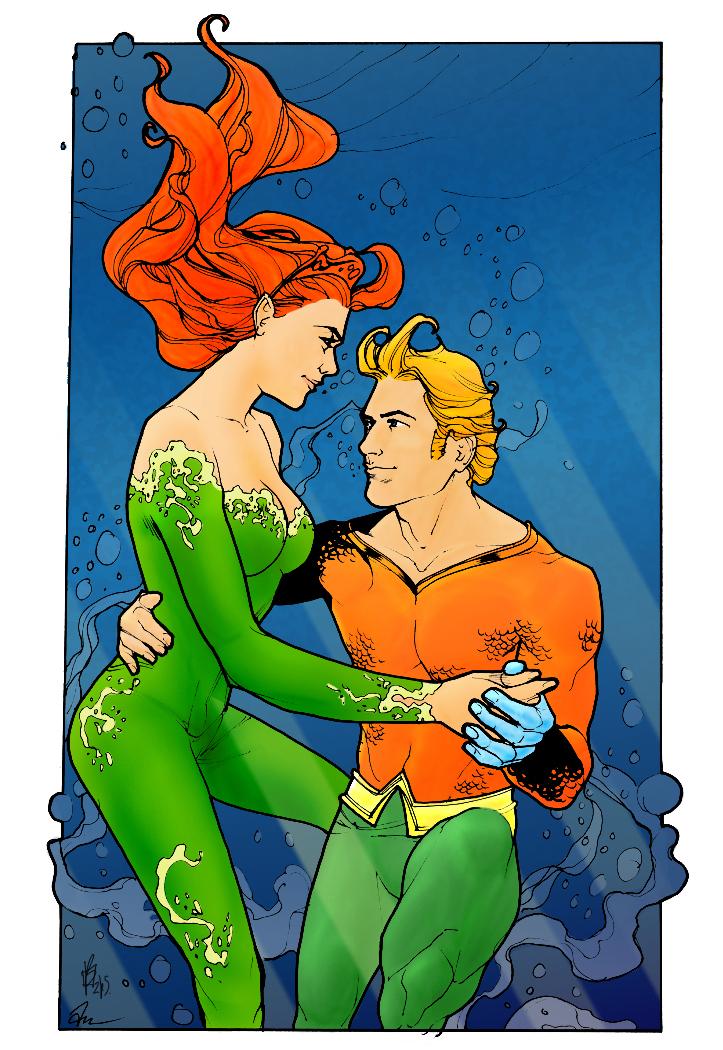 DC Comics Aquaman and Mera