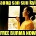 Aung San Suu Kyi Icons