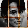 Human Rights photo entitled Aung San Suu Kyi Icons