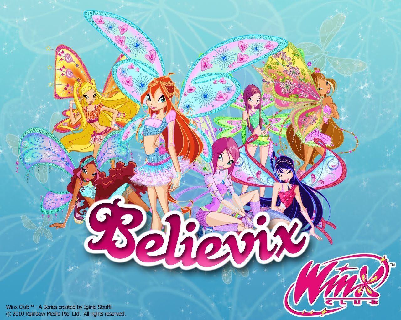 The Winx Club Believix Official Wallpaper