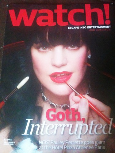 CBS WATCH- Pauley Perrette