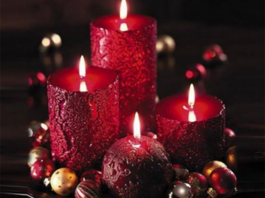 pretty candles wallpaper images