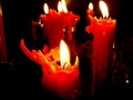 Candles Colored Red - candles wallpaper