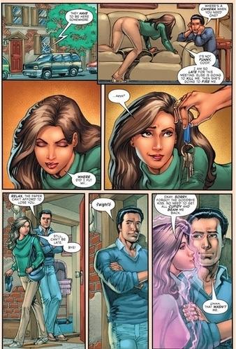 Зачарованные comics !