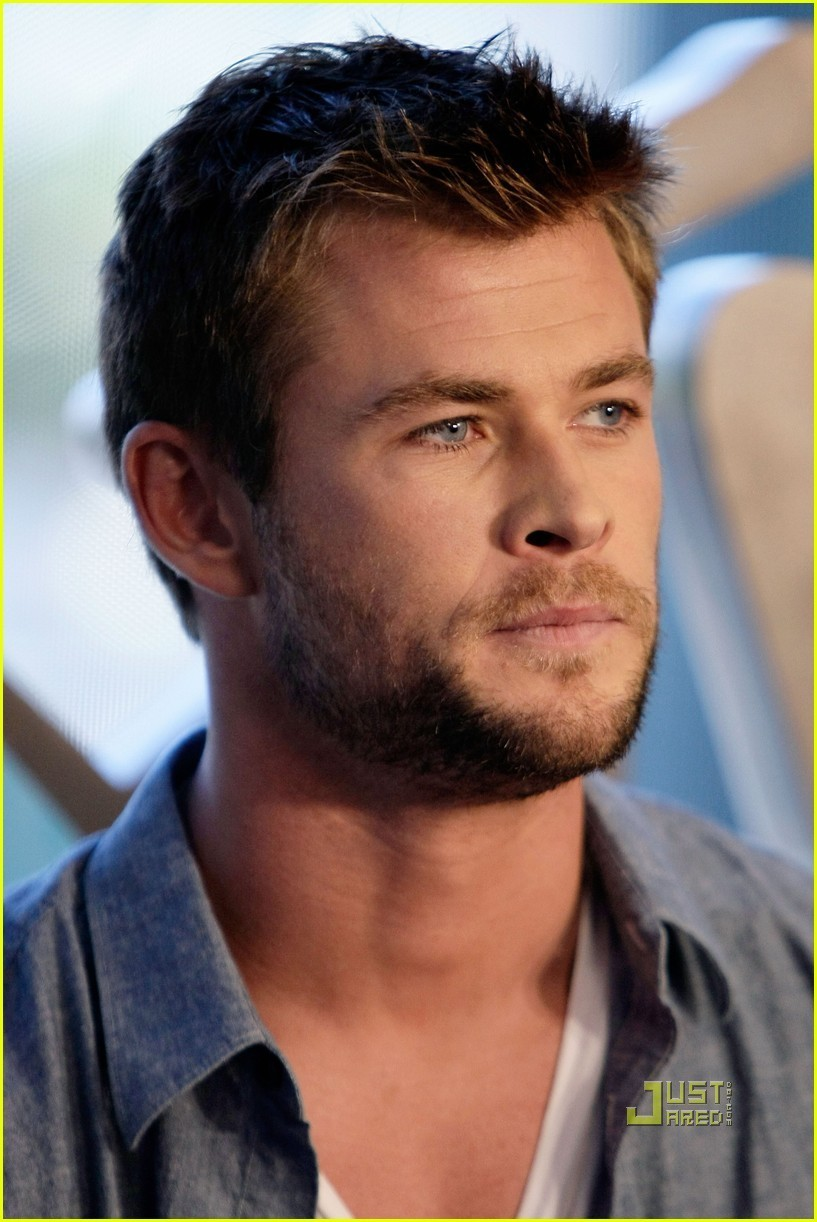 Chris Hemsworth Chris 2010 Comic Con