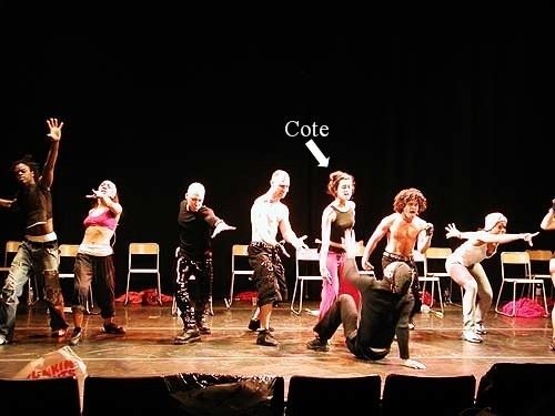 Cote in The Bronx Casket Co. Musical '02-'03