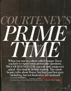 Courteney- InStyle Magazine August 2010