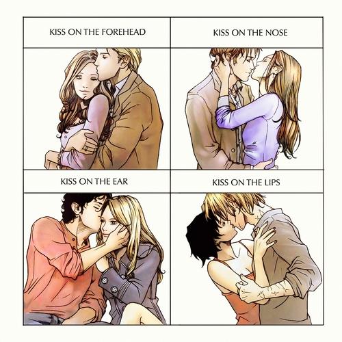 Cullens' kisses