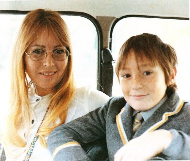 Cynthia With Julian Through The Years