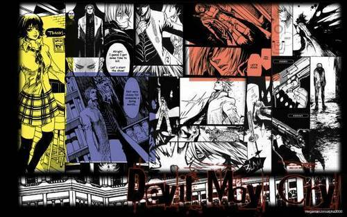 DMC comic page