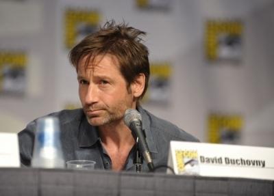 David Duchovny Comic Con 2010