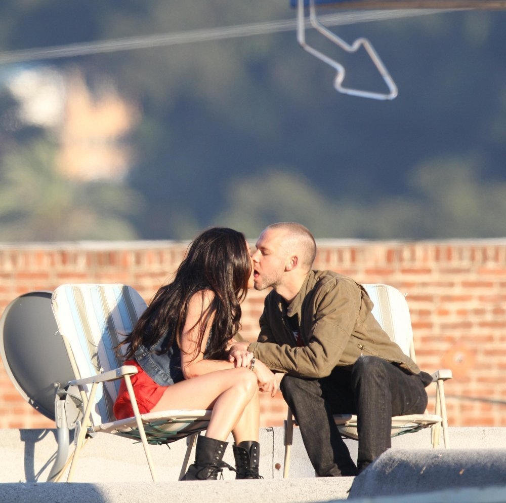Dominique Monaghan and Megan fox for Eminem's new clip