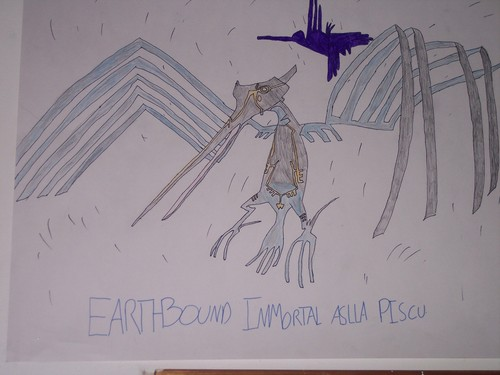 Earthbound immortal Asila Piscu