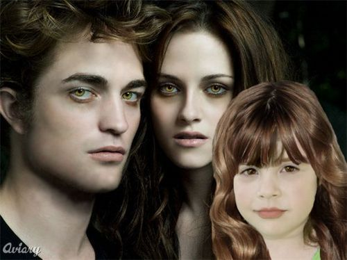 Edward, Bella & Renesmee